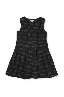 KENZO Tiger-print dress 6-12 years