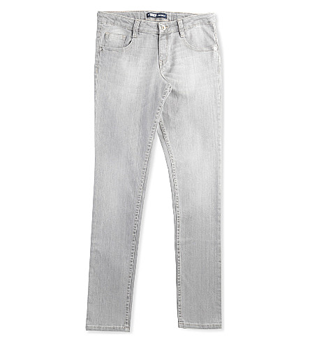 LEVI'S Isis skinny five-pocket jeans 8-16 years (Grey