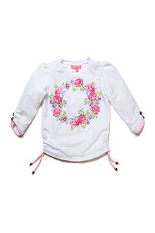SUNUVA Floral rash vest 1-12 years