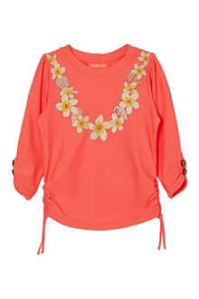 SUNUVA Coral garland rash vest 1-12 years