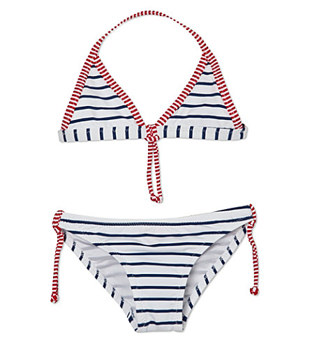 SUNUVA Striped two-piece swimsuit 1-12 years (Blue / white stripe