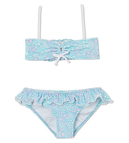 SUNUVA Starburst two-piece swimsuit 1-12 years (Aqua