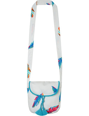 SUNUVA Feathers cross-body bag