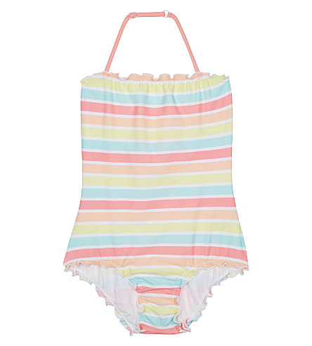 SUNUVA Sorbet stripe swimming costume 3-14 years (Sorbet+stripe