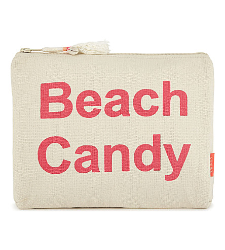 SUNUVA Beach Candy cotton wash bag (Pink