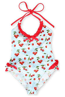 ST BARTHS Cherry swimsuit 4-10 years