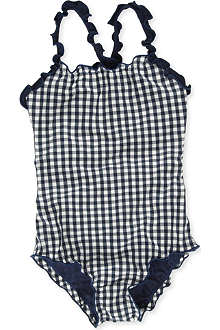 ST BARTHS Gingham swimsuit 4-10 years