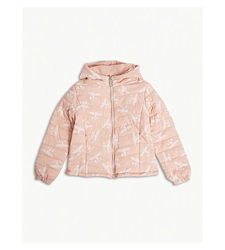 BOY LONDON Reversible padded logo jacket 3-16 years (Pink/white