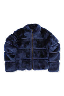 SUPERTRASH Faux-fur coat 4-16 years