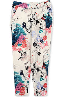 SUPERTRASH Panta printed trousers 4-16 years