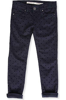 SUPERTRASH Polka dot skinny fit jeans 4-16 years