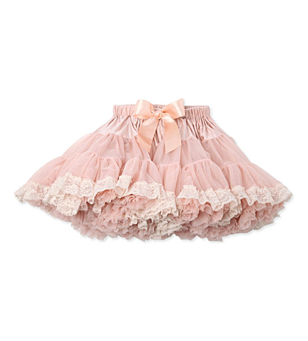 ANGEL'S FACE Champagne Lace tutu newborn - 12 years (Champagne
