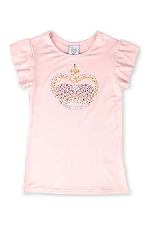 ANGELS FACE Rose Pink Crown t-shirt 2-11 years
