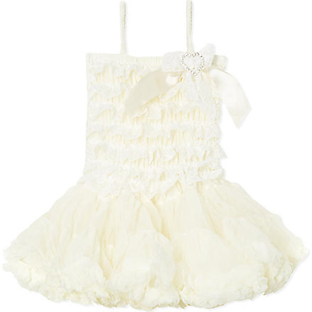 ANGELS FACE Lace ivory dress 3-12 years (Ivory
