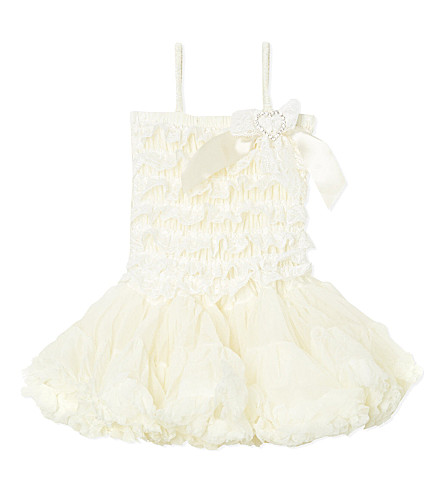 ANGEL'S FACE Lace ivory dress 3-12 years (Ivory