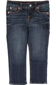 7FAM Roxanne straight-leg jeans 2-4 years
