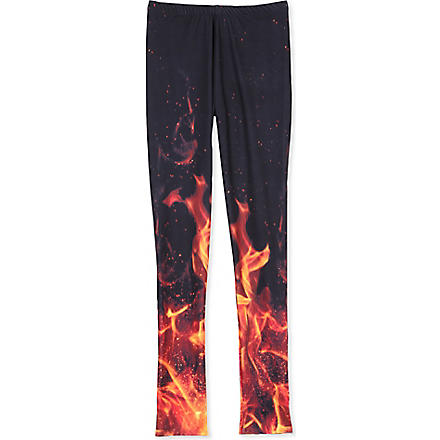 LA LOI Fire leggings 12-16 years (Orange
