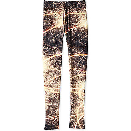 LA LOI Firework leggings 12-16 years (Yellow