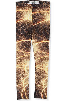 LA LOI La loi fireworks leggings 2-10 years