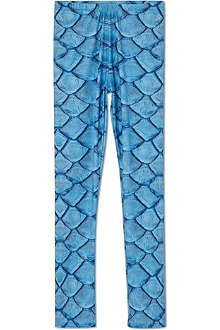 LA LOI Fish scale print leggings 2-10 years