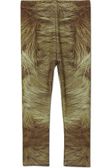 LA LOI Fur print leggings 2-10 years