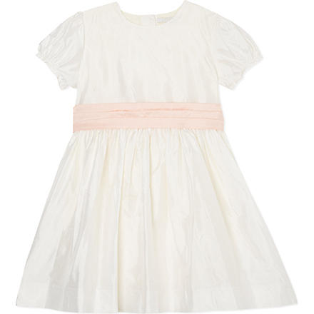 LIVLY Bow detail special occasion dress 2-8 years (White
