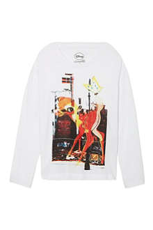 ELEVEN PARIS Bambi long-sleeved top 4-14 years