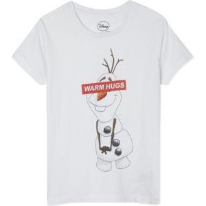 Olaf warm hugs t-shirt 4-12 years
