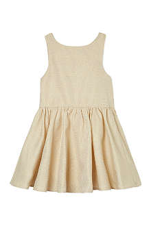 MARY MAZALY Metallic skater dress 4-12 years
