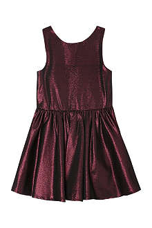 MARY MAZALY Baly metallic skater dress 4-12 years