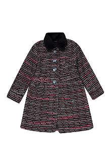 MARY MAZALY Mily tweed coat 4-12 years