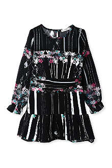 SUPERTRASH Floral chiffon dress 4-16 years