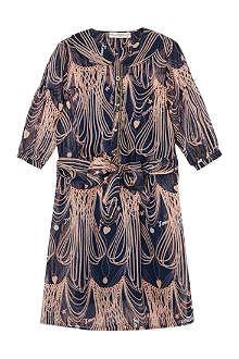 SUPERTRASH Dadara chain print dress 4-16 years
