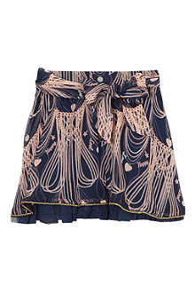 SUPERTRASH Scarlett chain print skirt 4-16 years