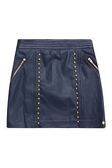 SUPERTRASH Studded leatherette skirt 6-16 years