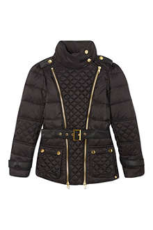 SUPERTRASH Omega quilted coat with belt 4-16 years