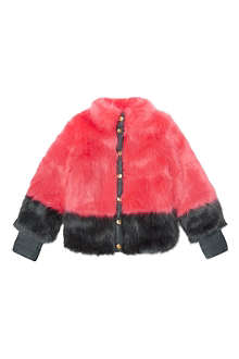 SUPERTRASH Oksana faux fur coat 4-16 years