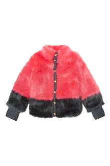 SUPERTRASH Oksana faux fur coat 4-16 years