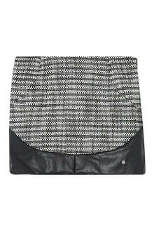 SUPERTRASH Sasa leather-look skirt 6-16 years