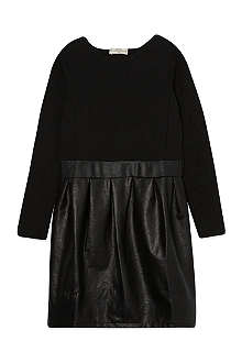 SUPERTRASH Topanga leather-look dress 4-16 years