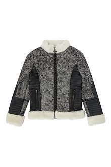 SUPERTRASH Ozora leather look coat 4-16 years