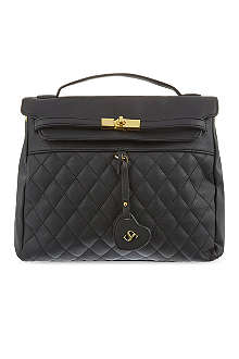 SUPERTRASH Beverley quilted leather bag