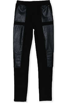 SUPERTRASH Faux-leather leggings 4-16 years