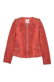 SUPERTRASH Suede jacket 4-16 years