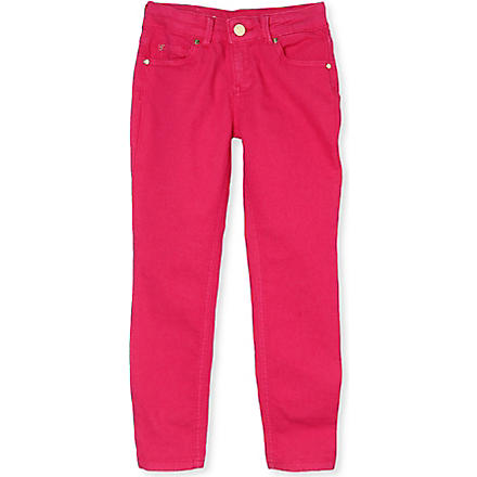SUPERTRASH Bow detail jeans 4-16 years (Pink