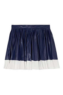 SUPERTRASH Pleather pleated skirt 4-16 years