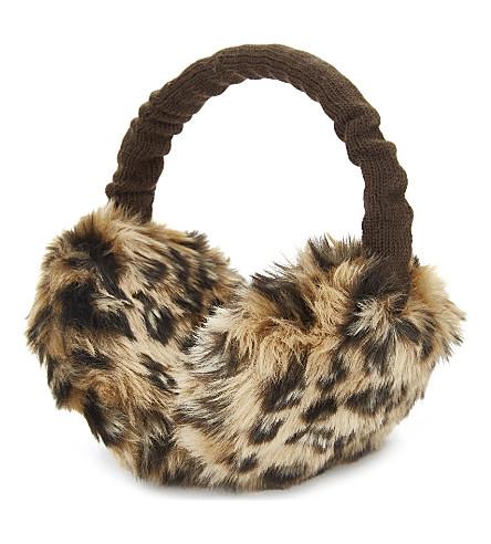BARTS BV Plush faux-fur earmuffs (Animal