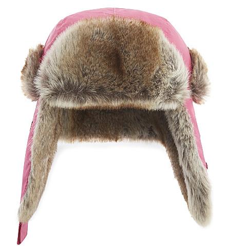 BARTS BV Kamikaze nylon trapper hat (Fuchsia