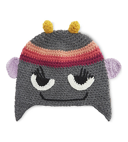 BARTS BV Monster knitted beanie hat (Confetti