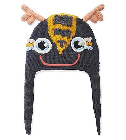 BARTS BV Woodson knitted deer hat (Blue